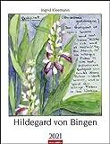 Hildegard von Bingen - Kalender 2021 - Weingarten-Verlag - Wandkalender mit bezaubernden Aquarellen - 29,8 cm x 38,8 cm