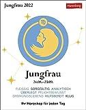 Jungfrau Sternzeichenkalender 2022 - Tagesabreißkalender mit ausführlichem Tageshoroskop und Zitaten - Tischkalender zum Aufstellen oder Aufhängen - 11 x 14 cm: Ihr Horoskop für jeden Tag