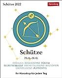 Schütze Sternzeichenkalender 2022 - Tagesabreißkalender mit ausführlichem Tageshoroskop und Zitaten - Tischkalender zum Aufstellen oder Aufhängen - 11 x 14 cm: Ihr Horoskop für jeden Tag für jeden Tag