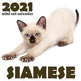 Siamese 2021 Mini Cat Calendar
