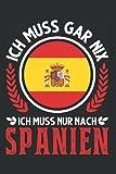 Spanien Tagesplaner: Spanien Urlaub Spanische Flagge Mallorca / Kalender 2022 / Wochenplaner Tagesplaner Planer / Planungsbuch To-Do-Liste / 6x9 Zoll / 100 ausfüllbare Seiten
