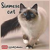 Siamese Cat 2021 Wall Calendar: Official Siamese Cats Breed Calendar 2021, 18 Months