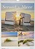 Strand & Meer 2021 - Bild-Kalender A3 (29,7x42 cm) - Natur-Kalender - Wandplaner - mit Platz für Notizen - Alpha Edition