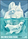 Dieter Braun: Die Welt der Tiere 2021 – Wandkalender – Poster-Format 49,5 x 68,5 cm