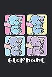 Elephant Kalender 2021: Elefanten Terminplaner 2021 Mit Uhrzeit Elefantenkalender Lustig Elefanten Kalender 2021 Buchkalender Elefanten Jahresplaner Wochenplaner 2021 Buch