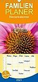 Bienenkalender - Familienplaner hoch (Wandkalender 2021, 21 cm x 45 cm, hoch)
