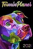 Terminplaner 2021 Hund: hunde kalender 2021 - wochenplaner 2021 - Wochenkalender von Januar bis Dezember 2021 - 1 woche 2 seiten - jahresplaner ... A5 - geschenk für hundebesitzer frauen männer