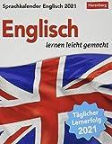 Sprachkalender Englisch - lernen leicht gemacht - Tagesabreißkalender 2021 mit Grammatik - und Wortschatztraining, humorvoll illustriert - ... 12,5 x 16 cm: Sprachen lernen leicht gemacht