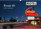 Route 66 in the Southwest (UK-Version) (Wall Calendar 2021 DIN A3 Landscape)