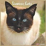Siamese Cats 2021 Calendar: Official Siamese Cats Wall Calendar 2021, 18 Months