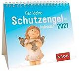 Der kleine Schutzengelkalender 2021: Mini-Monatskalender. Kleiner Aufstellkalender mit Monatskalendarium
