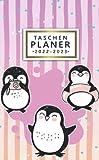 2022-2023 Taschenplaner: 24 Monate Taschenkalender | 2 Jahre Monatsplaner Von Januar 2022 bis Dezember 2023 | Kleiner Terminplaner | Hübsche Rosa Pinguin Liebe