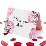 Mama Geschenk GrußKarte, Geburtstagsgeschenk für Mama Frauen, Geschenke für Mama, Muttertagsgeschenk Ideen Personalisiert Mutter Tochter Geschenk, für Muttertag, Frauentag, Weihnachts, Valentinstag