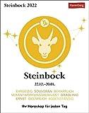 Steinbock Sternzeichenkalender 2022 - Tagesabreißkalender mit ausführlichem Tageshoroskop und Zitaten - Tischkalender zum Aufstellen oder Aufhängen - 11 x 14 cm: Ihr Horoskop für jeden Tag