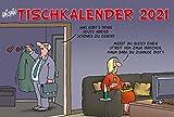Uli Stein – Tischkalender 2021: Monatskalender zum Aufstellen