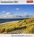 Nordseeküste Sehnsuchtskalender 2021 - Postkartenkalender mit Wochenkalendarium - 53 perforierte Postkarten zum Heraustrennen - zum Aufstellen oder ... x 17,5 cm: Sehnsuchtskalender, 53 Postkarten