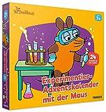 FRANZIS Experimentier-Adventskalender mit der Maus | 24 Experimente zum Staunen, Lachen und Rätseln | Ab 7 Jahren