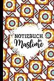 Notizbuch Für Muslime: Mit Jahresübersicht 2022-2023 I Schönes Interieur I Bullet Journal I Notizheft I Tagebuch I Kalender & Planer I ... I Geschenk für Muslime I A5 liniert