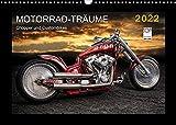 Motorrad-Träume – Chopper und Custombikes (Wandkalender 2022 DIN A3 quer)