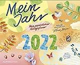 Mein Jahr 2022 - Mein persönlicher Alltagsplaner - Wand-Kalender - Broschüren-Kalender - 30x24,4 - 30x48,8 geöffnet