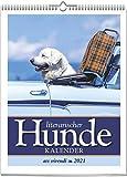 Literarischer Hunde-Kalender 2021: Wochenkalender mit Fotografien und Zitaten - Hundekalender2021: Wochenwandkalender mit 53 Farbfotografien
