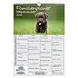 Familienplaner - Welpenzauber DIN A3 Kalender für 2022 Hunde Welpen - Seelenzauber