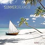 Summer Dreams 2022 - Broschürenkalender 30x30 cm (30x60 geöffnet) - Kalender mit Platz für Notizen - Bildkalender - Wandplaner - Wandkalender