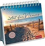 Zeit für Neues 2022: Wochenkalender zum Aufstellen, Tischkalender mit Spiralbindung und 53 Postkarten zum Heraustrennen