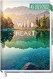 Chäff-Timer Classic A5 Kalender 2021/2022 [Wild Heart] Terminplaner, Terminkalender 18 Monate: Jul 21 - Dez 22 | Wochenkalender, Organizer, Wochenplaner | nachhaltig & klimaneutral