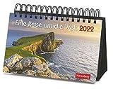 Eine Reise um die Welt Premiumkalender 2022 - Tagesabreißkalender zum Aufstellen - Tischkalender mit hochwertigen Farbfotografien - in Geschenkbox - 23 x 17 cm: 365 faszinierende Fotografien