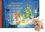 Rica und das Weihnachtsabenteuer mit Stoffschaf. Ein Folien-Adventskalender zum Vorlesen und Gestalten eines Fensterbildes (Adventskalender mit ... Kinder: Ein Buch zum Vorlesen und Basteln)
