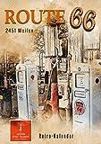 Route 66-2451 Meilen (Wandkalender 2022 DIN A2 hoch)