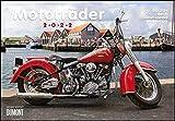 Motorräder & Routen 2022 - Broschürenkalender - mit Schulferientabelle - Format 42 x 29 cm: durch Deutschland und Europa
