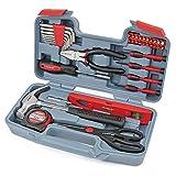 Hi-Spec 39-teiliges Home & Office Werkzeugset für leichte Heimarbeiten und Reparaturen. Handwerkzeuge in einem kompakten Koffer