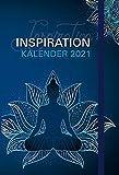 Inspiration - Kalender 2021: Taschenkalender mit Lesebändchen und Gummiband