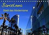 Barcelona - Stadt des Modernisme (Tischkalender 2021 DIN A5 quer)