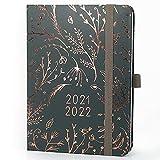 Boxclever Press Everyday Kalender 2021 2022. Terminplaner 2021 2022 von Aug.'21- Aug.'22. Schülerkalender 2021 2022 für Ziele mit Monatsübersichten & Notizseiten. Wochenplaner misst 17 x 12,5cm
