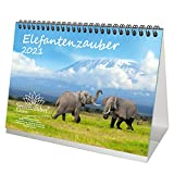 Elefantenzauber DIN A5 Tischkalender für 2021 Elefanten - Seelenzauber