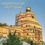 Hundertwasser Architektur 2021: Broschürenkalender mit Ferienterminen