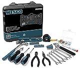 Werkzeug Set, WESCO Geschenk für Männer WerkzeugKoffer Set, Weihnachtsgeschenke für Männer Werkzeugset Klein, 144-teiliges Reparaturwerkzeuge mit Aufbewahrungskoffer, Haushalts Werkzeugkoffer Gefüllt