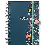 Boxclever Press Lebensplaner Kalender 2022 A5. Familienplaner 2022 mit Einkaufslisten & Stickern. Terminplaner 2022 ab sofort nutzbar bis Dez'2022. Kalender 2022 Buchkalender für alle Ihre Pläne.