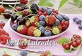Küchenkalender 2022: Broschürenkalender mit 12 genialen Rezepten. Format 42 x 29 cm inklusive Ferienterminen.
