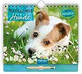 Trötsch Notizkalender Querformat klein Hunde 2022: Wandkalender mit Stift
