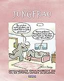 Jungfrau 2022: Sternzeichenkalender-Cartoonkalender als Wandkalender im Format 19 x 24 cm.
