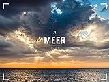 Meer - Ackermann Gallery Kalender 2021, Wandkalender im Querformat (66x50 cm) - Großformat-Kalender / Hochwertiger Panorama-Kalender Küste und Strand