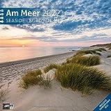 Am Meer 2022, Wandkalender / Broschürenkalender im Hochformat (aufgeklappt 30x60 cm) - Geschenk-Kalender mit Monatskalendarium zum Eintragen