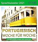 PONS Sprachkalender Portugiesisch 2021: 53 Wochen lernen und genießen