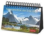 Naturparadiese der Erde Premiumkalender 2022 - Tagesabreißkalender zum Aufstellen - Tischkalender mit hochwertigen Farbfotografien - in Geschenkbox - 23 x 17 cm: 365 faszinierende Fotografien