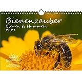 Tierzauber Bienen und Hummeln DIN A4 Kalender für 2021 - Seelenzauber