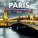 Paris France Calendar - Calendars 2020 Wall Calendar - Paris Wall Calendar